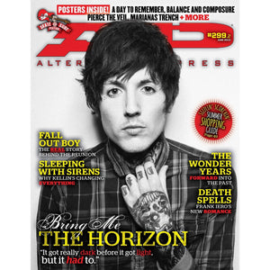 [299.2] Bring me the Horizon Magazines Alternative Press