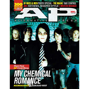 My Chemical Romance on Alternative Press Magazine Issue 300 Version 1