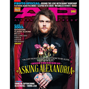 Asking Alexandria on Alternative Press Magazine Issue 302 Version 2