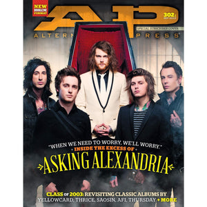 Asking Alexandria on Alternative Press Magazine Issue 302 Version 1