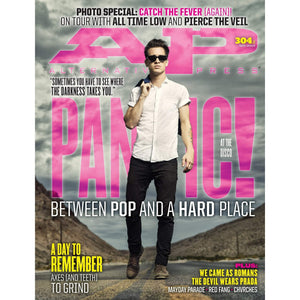 Panic! at the Disco on Alternative Press Magazine Issue 304 Version 2