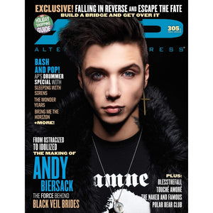 [305.1] Andy Biersack Magazines Alternative Press