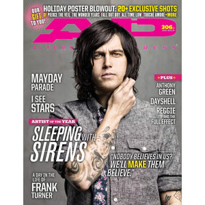 Sleeping with Sirens on Alternative Press Magazine Issue 306 Version 2