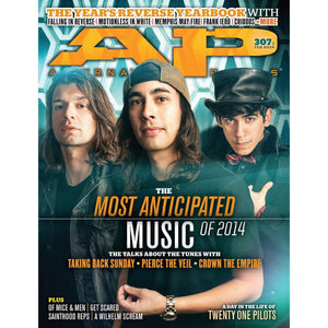 Most Anticipated Music of 2014 on Alternative Press Magazine Issue 307 Version 1
