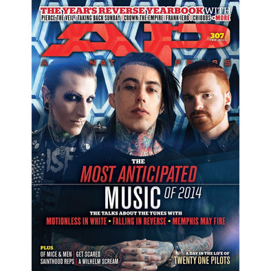 altpress alternative press magazine crown the empire falling in reverse memphis may fire motionless in white pierce the veil taking back sunday spencer chamberlain frank hero josh scogin posters