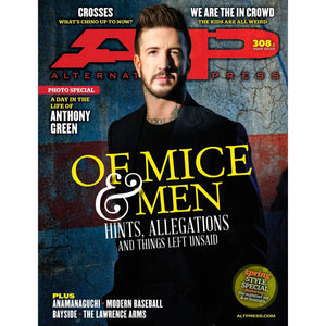 [308.2] Of Mice & Men Magazines Alternative Press