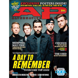A Day To Remember on Alternative Press Magazine Issue 310 Version 1