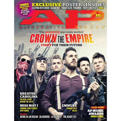 altpress alternative press magazine crown the empire breathe carolina emmure being as an ocean la dispute miss may i bleachers the hotelier bring me the horizon real friends my chemical romance machine gun kelly paramore sleeping with sirens twenty one pilots tonight alive posters
