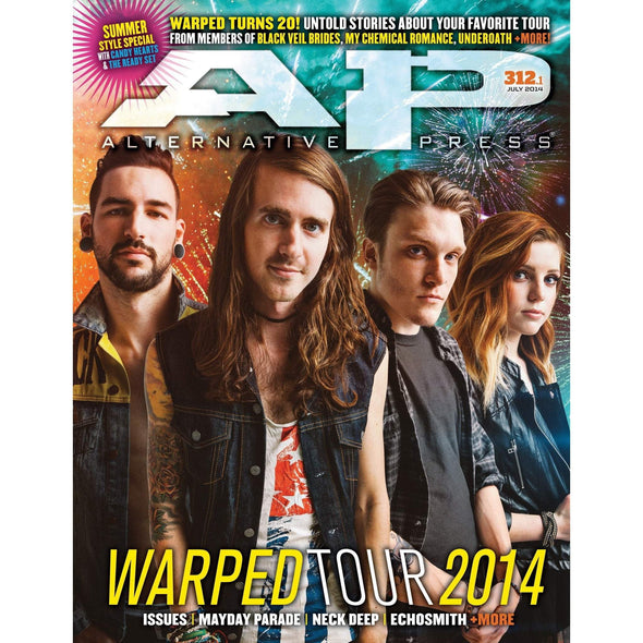 altpress alternative press magazine warped tour 2014 beartooth the color morale echosmith issues the maine mayday parade neck deep we are the in crowd all time low black veil brides chides less than jake my chemical romance underneath the word alive yellow card posters