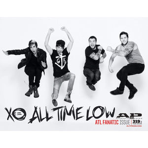 All Time Low on Alternative Press Magazine Issue 319