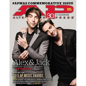 All Time Low on Alternative Press Magazine Issue 325 Version 1