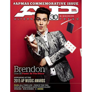 Panic! at the Disco on Alternative Press Magazine Issue 325 Version 2