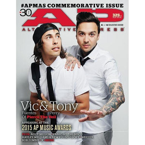 [325.4] AP Music Awards: Vic & Tony (Pierce The Veil) Magazines Alternative Press