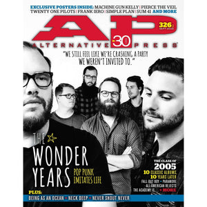 [326.1] The Wonder Years Magazines Alternative Press