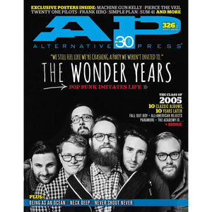 The Wonder Years on Alternative Press Magazine Issue 326 Version 2