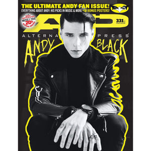 [331.2] Andy Black Magazines Alternative Press