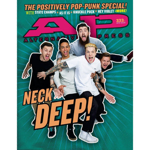 Neck Deep on Alternative Press Magazine Issue 333 Version 1