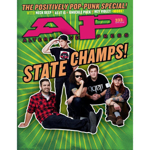 State Champs on Alternative Press Magazine Issue 333 Version 2