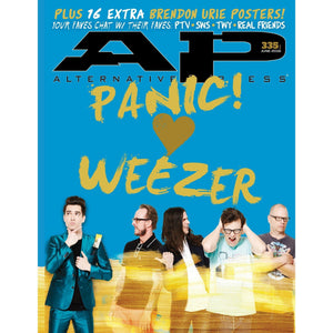 Panic! At The Disco & Weezer on Alternative Press Magazine Issue 335 Version 1