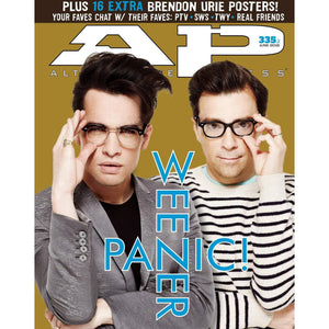 Panic! At The Disco & Weezer on Alternative Press Magazine Issue 335 Version 2