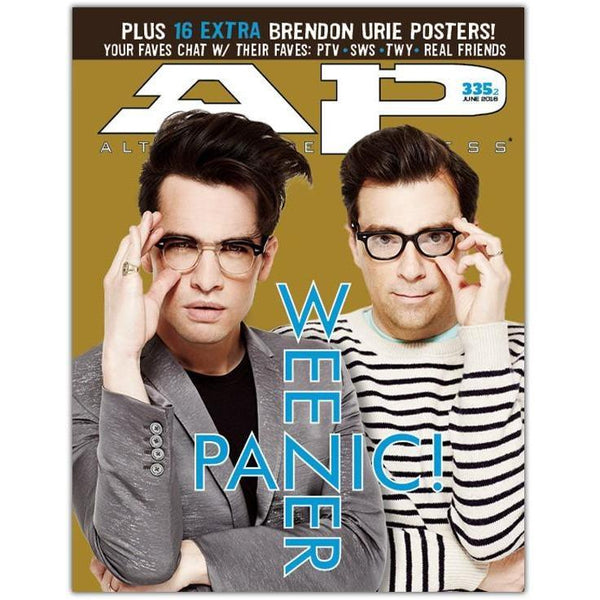 Panic! At The Disco & Weezer Magazine Bundle