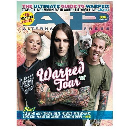 Warped Tour 2016 Magazine Bundle