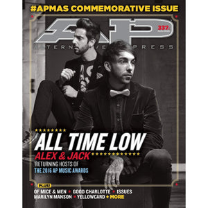 All Time Low on Alternative Press Magazine Issue 337 Version 1