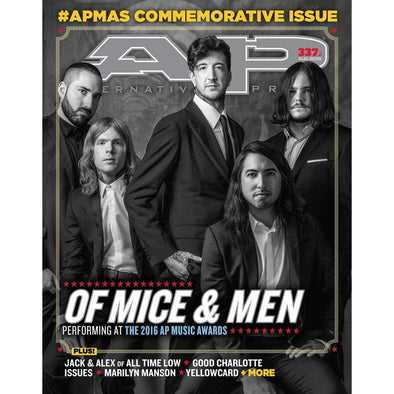 altpress alternative press magazine apmas 2016 music awards of mice & men good charlotte issues all time low attila betroth issues motionless in white neck deep slipknot falling in reverse never shout never posters