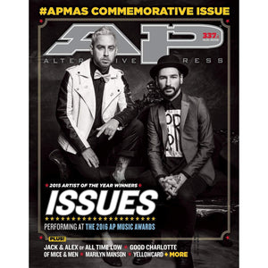 [337.4] AP Music Awards 2016: Issues Magazines Alternative Press