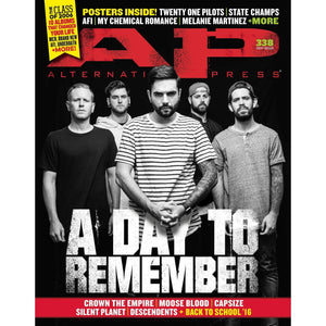 A Day To Remember on Alternative Press Magazine Issue 338