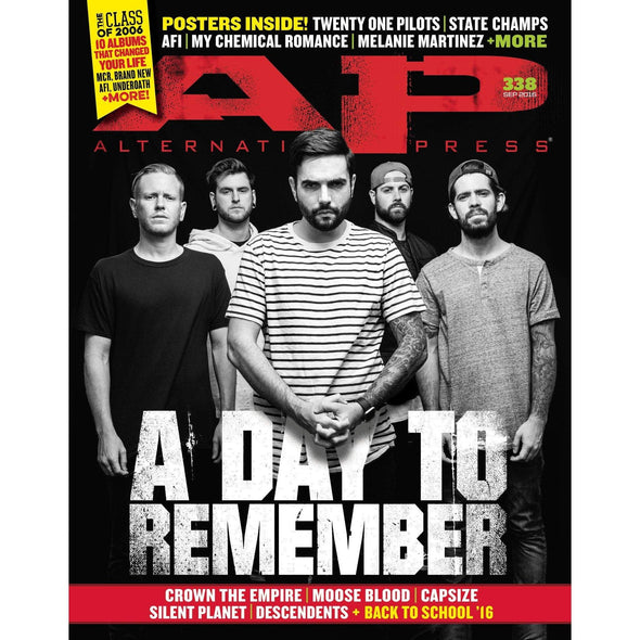 altpress alternative press magazine a day to remember brand new my chemical romance AFI underneath capsize moose blood twenty one pilots melanie martinez posters