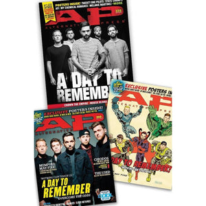 A Day To Remember [AP Collector Set] Cover Bundle Alternative Press