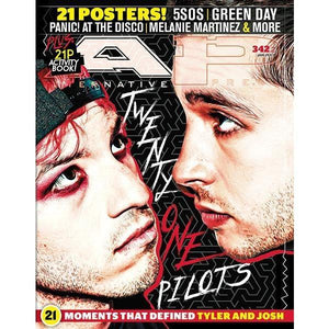 Twenty One Pilots on Alternative Press Magazine Issue 342 Version 2