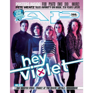 Hey Violet on Alternative Press Magazine Issue 344 Version 1