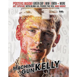 [345.1] Machine Gun Kelly Magazines Alternative Press