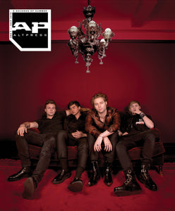 5 Seconds of Summer on Alternative Press Magazine Issue 360 Version 1