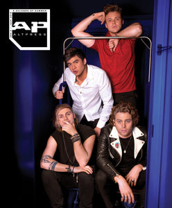 5 Seconds Of Summer on Alternative Press Magazine Issue 360 Version 2