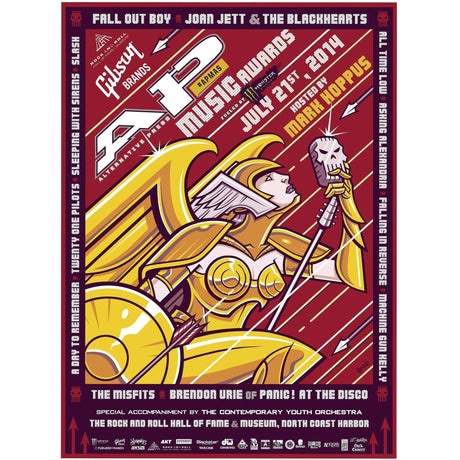 Official 2014 APMAs Poster
