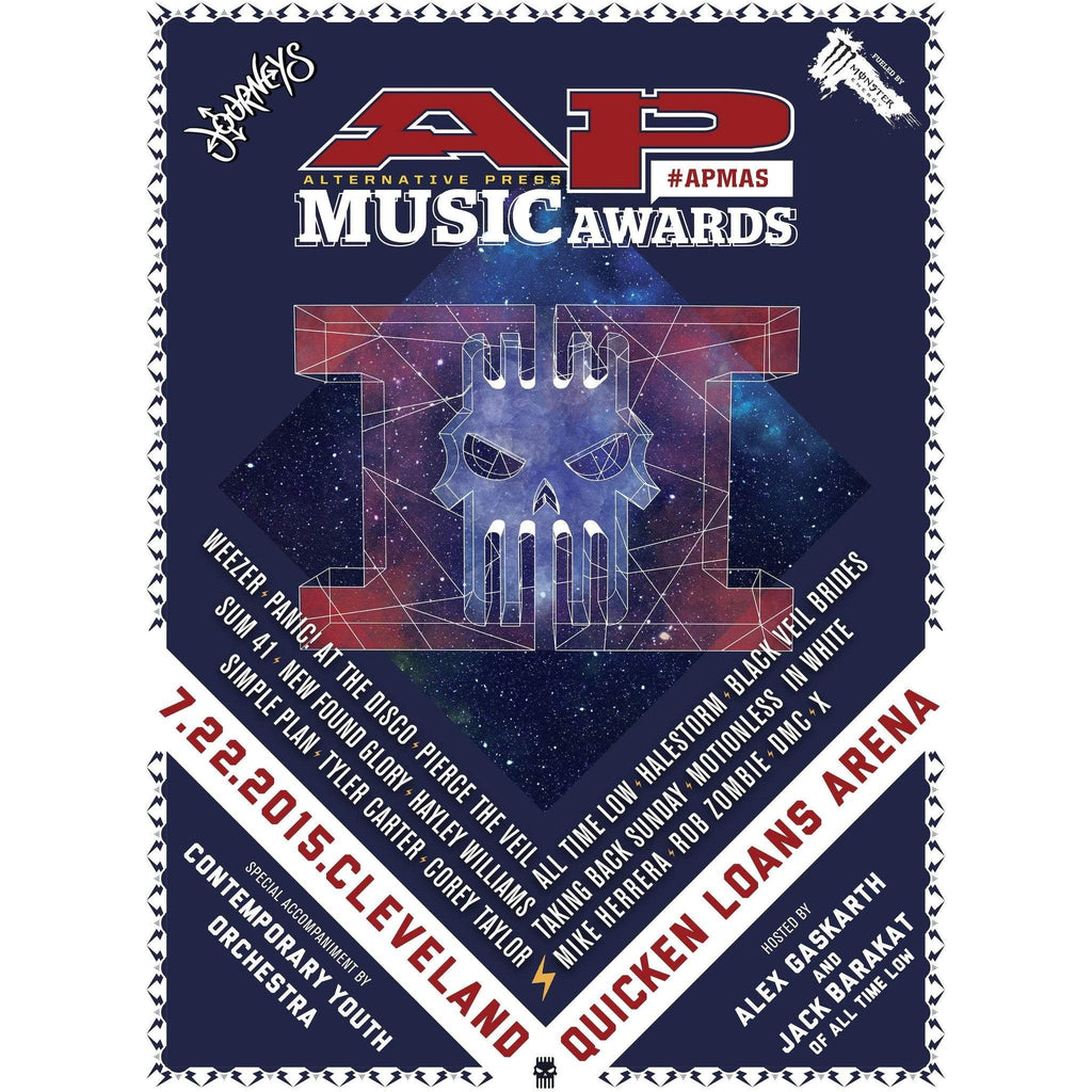 Official 2015 APMAs Poster