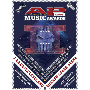 Official 2015 APMAs Poster Poster Alternative Press
