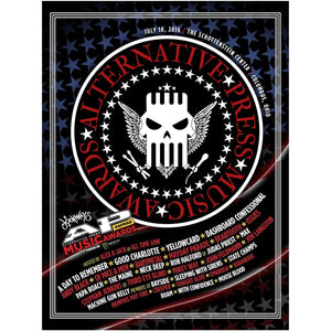 Official 2016 APMAs Poster Poster Alternative Press