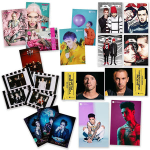 Twenty One Pilots, Andy Black, Waterparks + Art Card Set Art Card Collection Alternative Press