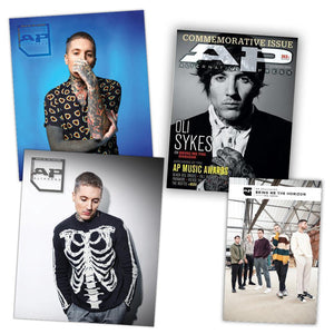Bring Me The Horizon [BMTH] Fan Pack Cover Bundle Alternative Press