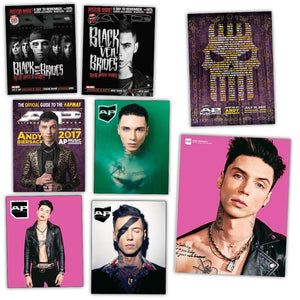 Andy Black Veil Brides on Alternative Press Magazine Ultimate Collection