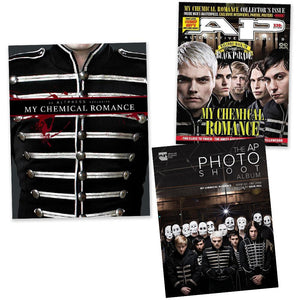 My Chemical Romance on Alternative Press Magazine Collector's Edition Mini Collection