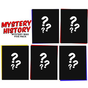 Mystery History Mag Collection [5 Mags] Mystery Packs Alternative Press