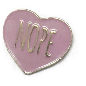 AltPress Nope Pin [Pink] Accessories Alternative Press