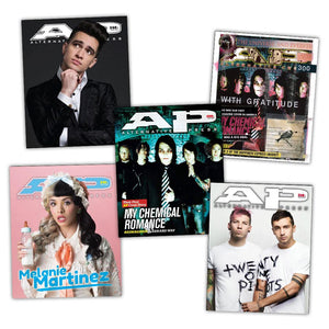 Panic! At The Disco, Melanie Martinez, Twenty One Pilots, My Chemical Romance Reprint Collection - Alternative Press Magazine Exclusive BFCM Collection Alternative Press
