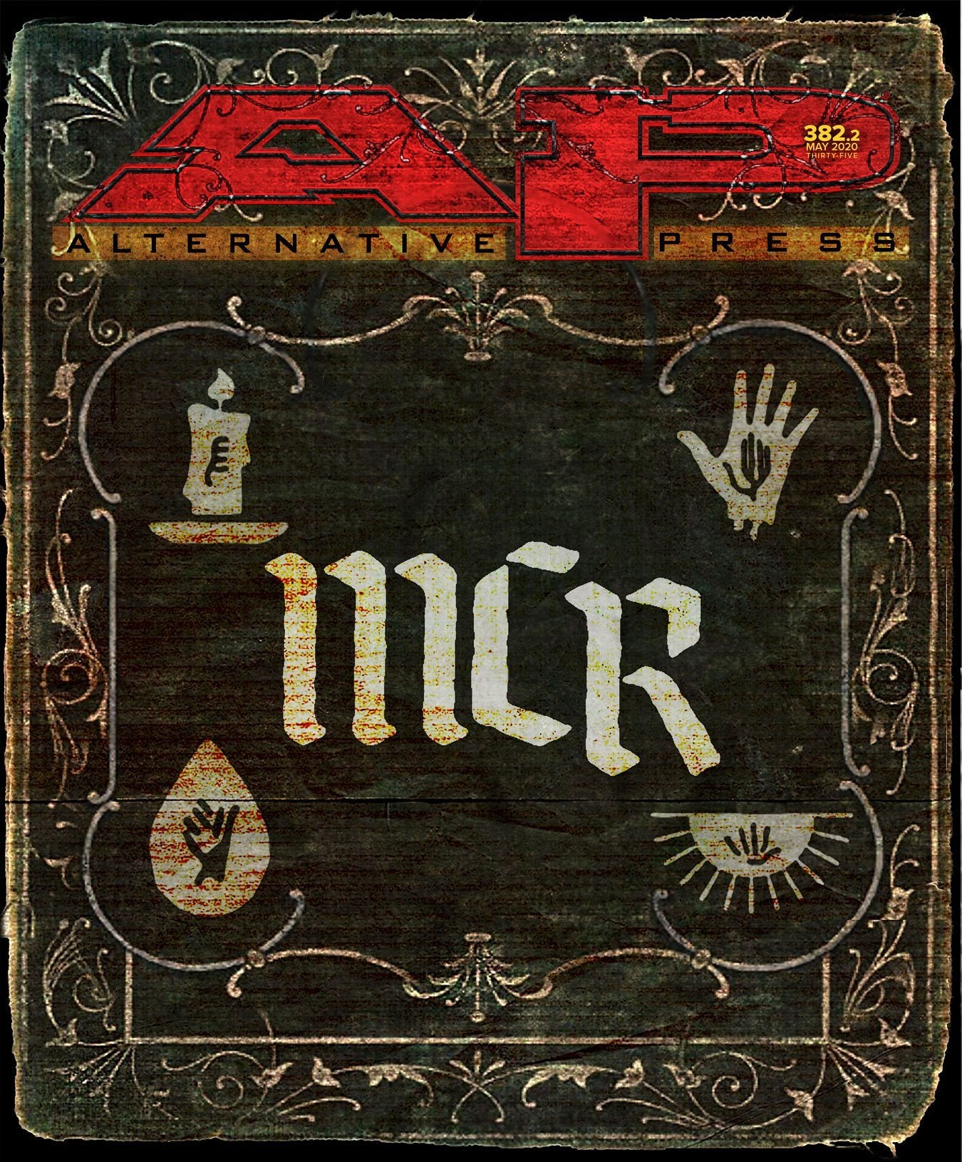 My Chemical Romance Holy Book - Alternative Press Magazine Issue 382 Version 2