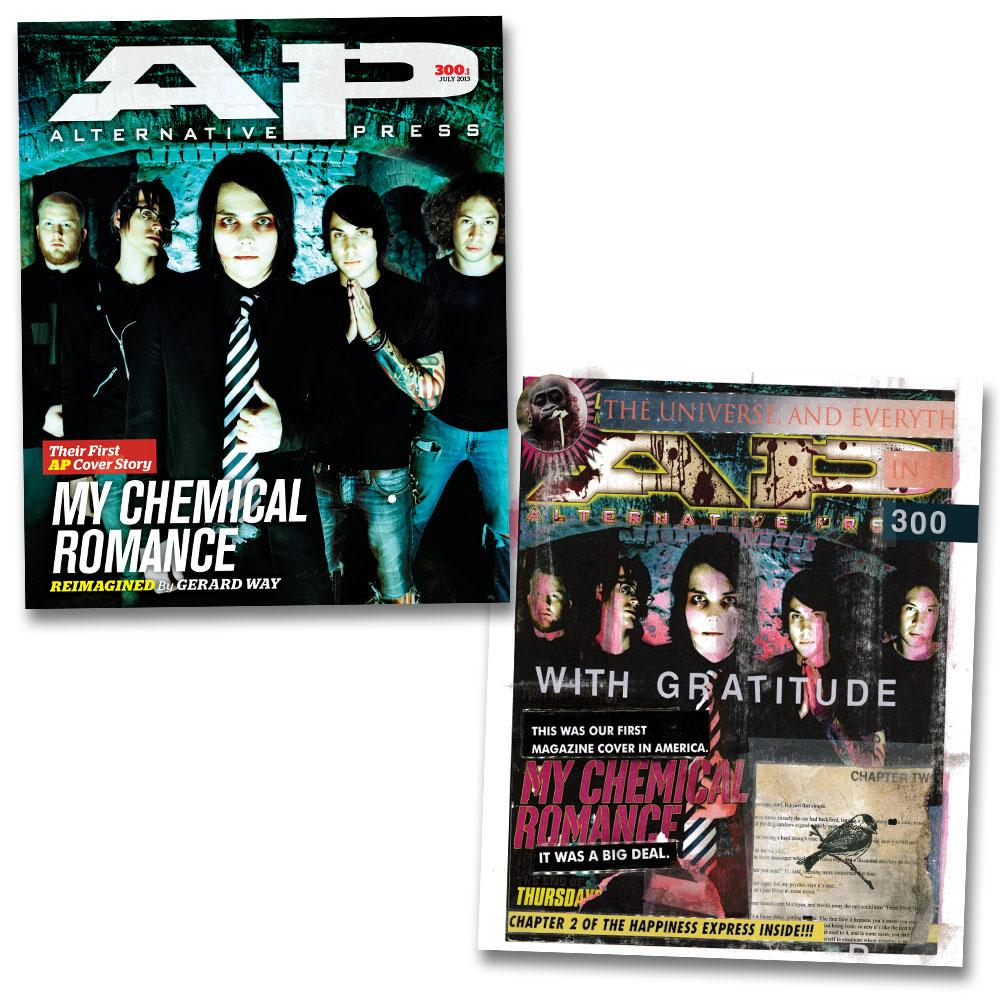 My Chemical Romance - Alternative Press Magazine Issue 300 Duo Collection